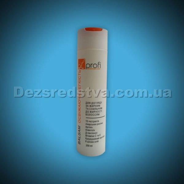 """Бальзам """"Освіжаюча легкість"""" для догляду за жирним волоссям серії L-PROFI, 250 мл"""