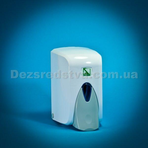 Диспенсер, дозатор для жидкого мила с резервуаром, 500 мл (белый)