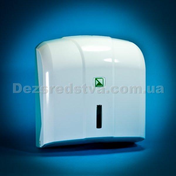 Диспенсер, дозатор, держатель для полотенец z- типа(белый) с полотенцами