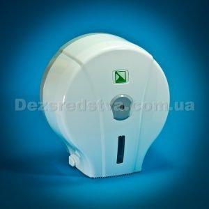 Диспенсер, держатель для туалетной бумаги (белый)