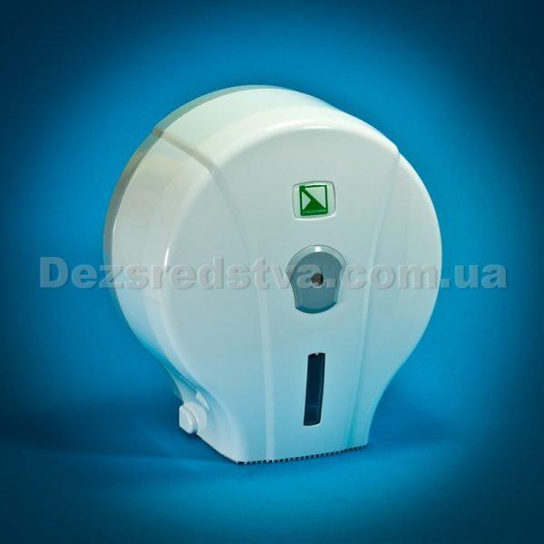 Диспенсер, тримач для туалетного паперу (білий)