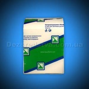 """Бумага туалетная Z-типа """"Lysoform"""", 2-хслойная, 10см, 200 листов"""